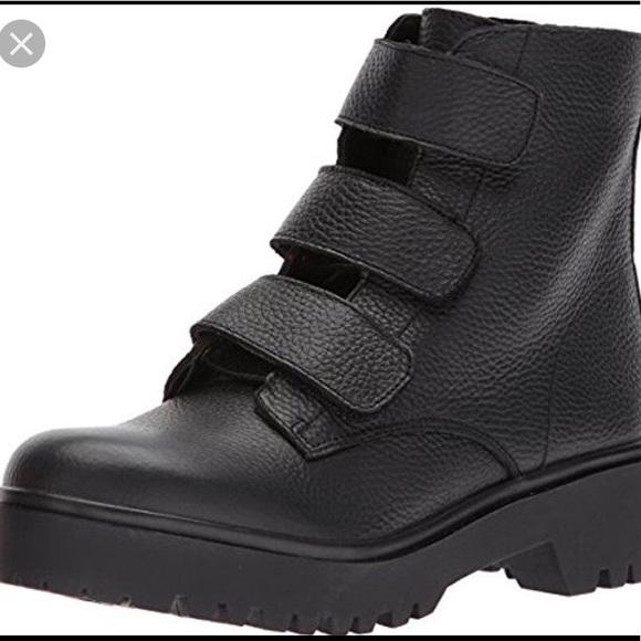 cde637bc236 Steve Madden Wayne Velcro Boots
